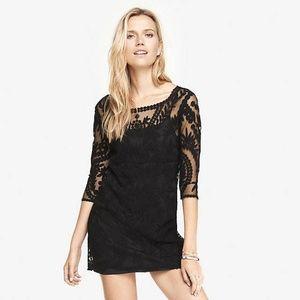 Black Lace Minidress
